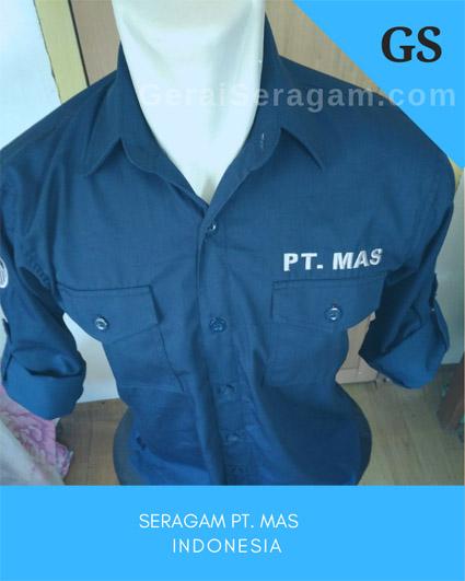 baju net tv PT MAS